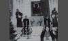 Strażacy podczas uroczystości nawiedzenia parafii Wrocimowice przez Kopię Cudownego Obrazu Matki Boskiej Częstochowskiej; 1973 rok.