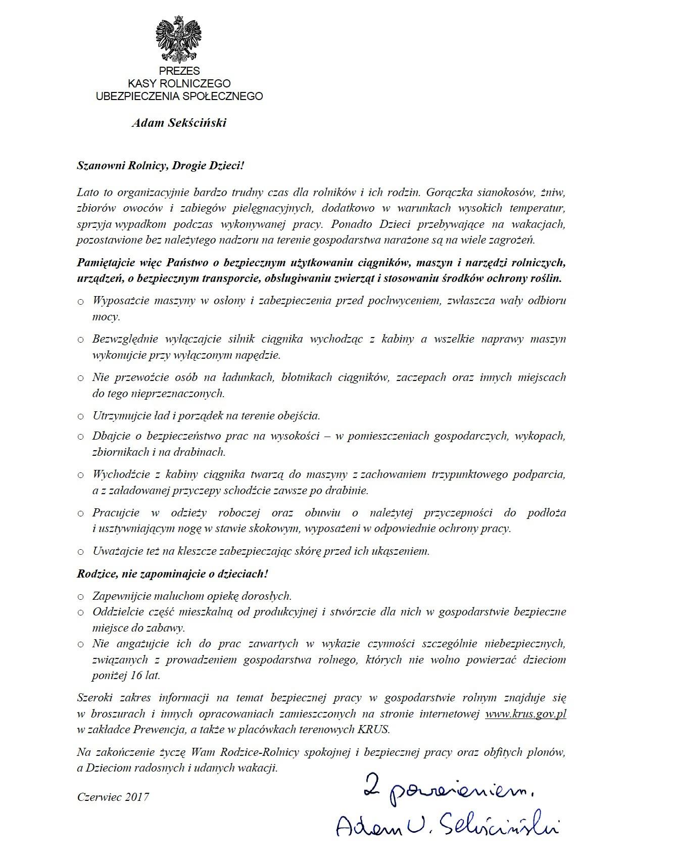List_Prezes_KRUS (1)