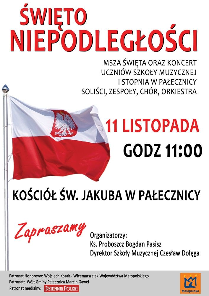 Plakat 11 listopada